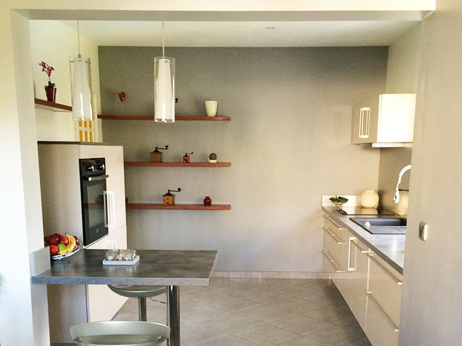 Am nagement de cuisines lb home style lucille beaudet for Ouverture cuisine sur sejour