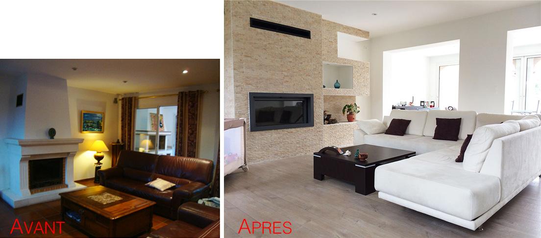 r alisations r novation photos avant apr s lb home. Black Bedroom Furniture Sets. Home Design Ideas