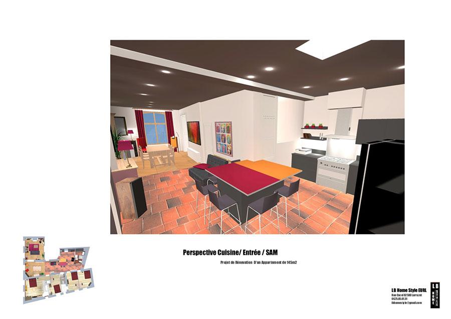 missions d 39 architecte lb home style lucille beaudet architecte d 39 int rieur toulouse et. Black Bedroom Furniture Sets. Home Design Ideas