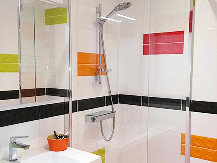 Am nagement de salle de bain et de salle d 39 eau lb home for Salle de bain d architecte